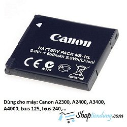 Pin Canon NB-11L