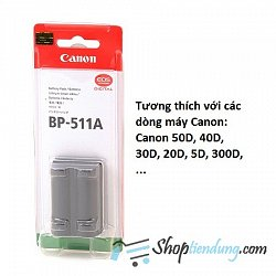 Pin Canon BP-511A