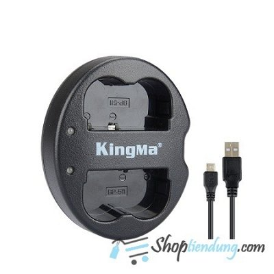 Sạc KingMa for pin Canon BP-511A