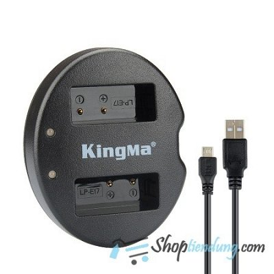 Sạc KingMa for pin Canon LP-E17