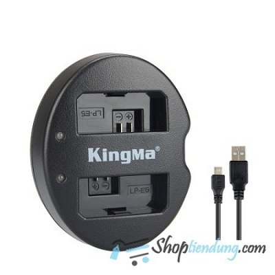 Sạc KingMa for pin Canon LP-E5