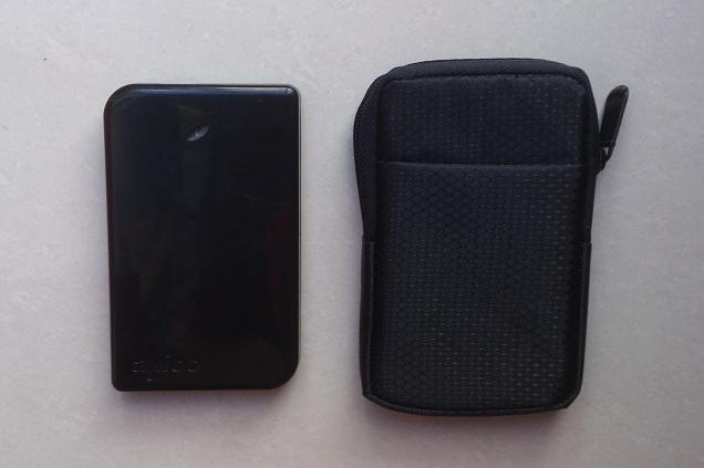 túi đựng và ổ cứng di động 2.5 inch